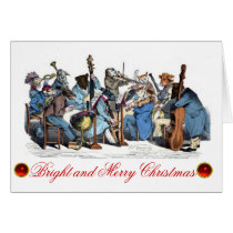 ANIMAL FARM ORCHESTRA CHRISTMAS HOLIDAY PARTY CARD
