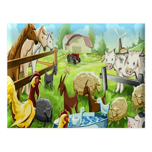 Animal Farm Post Card