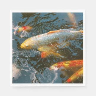 Animal - Fish - Bestow good fortune Paper Napkin