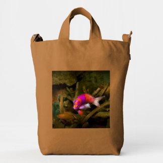 Animal - Fish - Pseudanthias pleurotaenia Duck Bag