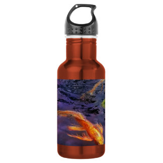 Animal - Fish - There's something about koi 18oz Water Bottle