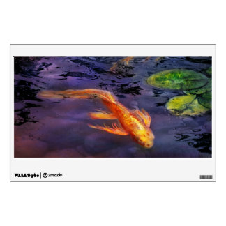 Koi fish wall decals wall stickers zazzle for Koi wall sticker