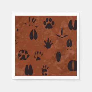 Animal Footprint Napkins