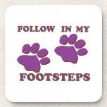 Animal Footsteps Coaster