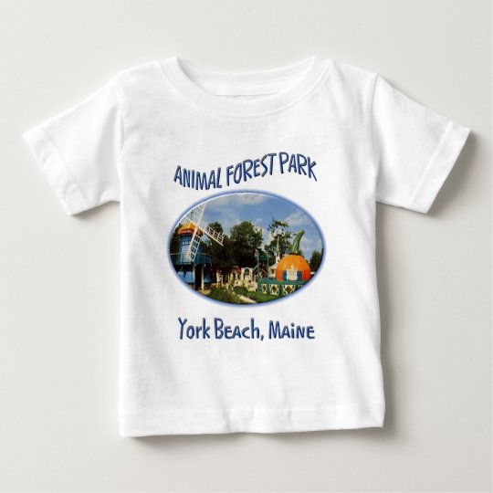 Animal Forest Park Baby T-Shirt