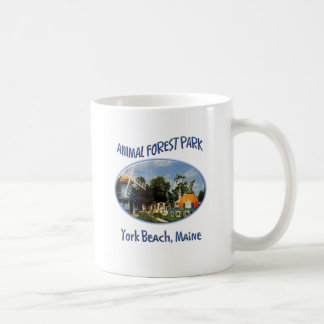 Animal Forest Park Classic White Coffee Mug
