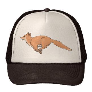 Animal Fox Forest Office Party Shower Digital Art Hat