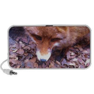 Animal Fox Forest Office Party Shower Digital Art Laptop Speaker