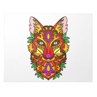 Animal Fox Notepad