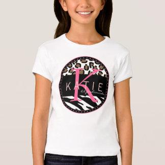 Animal Frenzy Personalized Girls T-shirt