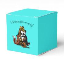 """Animal Friends Birthday Favor Box Classic 2x2"""