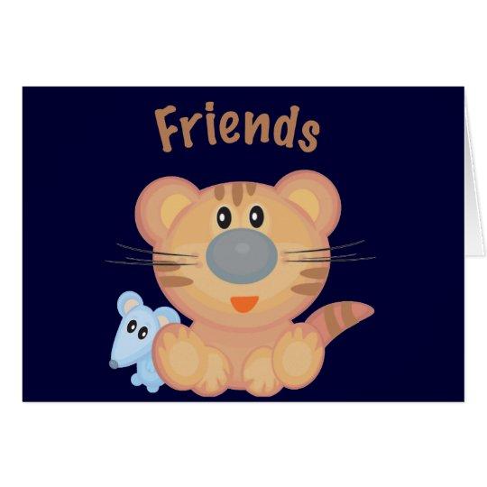Animal Friends Card
