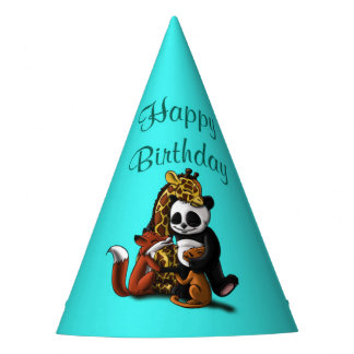 Animal Friendship Birthday Party Hat