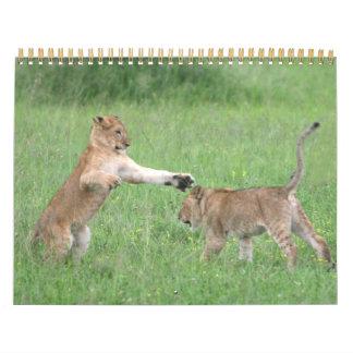 Animal Fun 2012 Calendar
