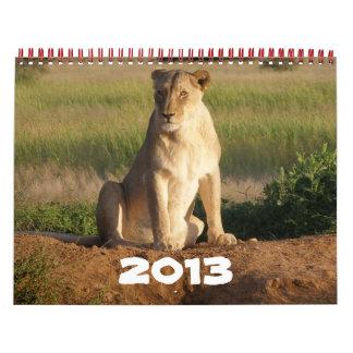 Animal Fun 2013 Calendar