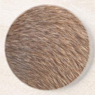 Animal Fur Beverage Coaster