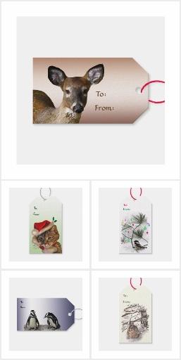Animal Gift Tags