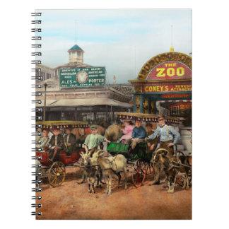 Animal - Goats - Coney Island NY - Kid rides 1904 Notebook