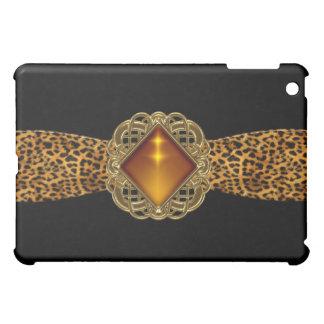 Animal Gold Black Amber jewel Elegant Classy Cover For The iPad Mini