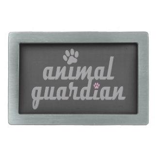 animal guardian -. - Gürtelschnalle Rectangular Belt Buckle