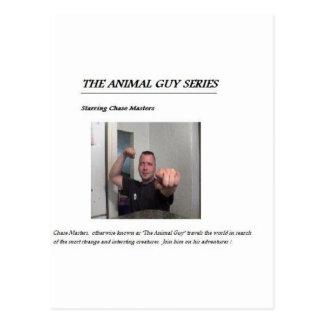 Animal Guy Series Postcard