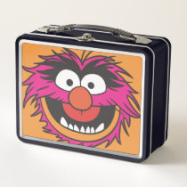 Animal Head Metal Lunch Box