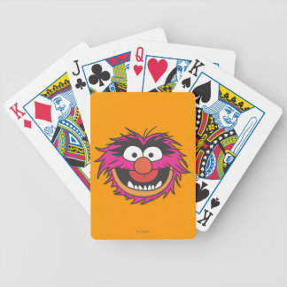 Animal Head Bicycle Playing Cards