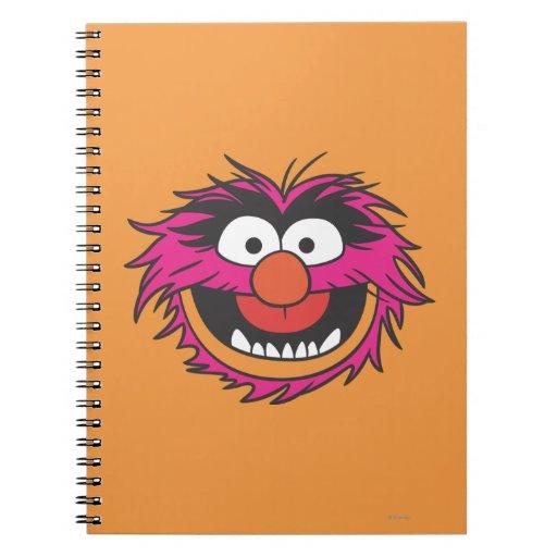 Animal Head Spiral Notebook