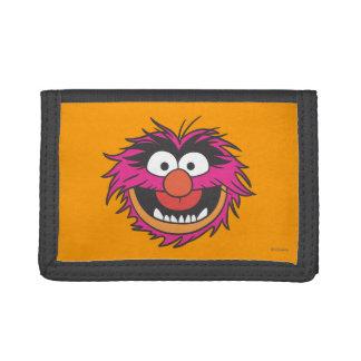 Animal Head Tri-fold Wallet