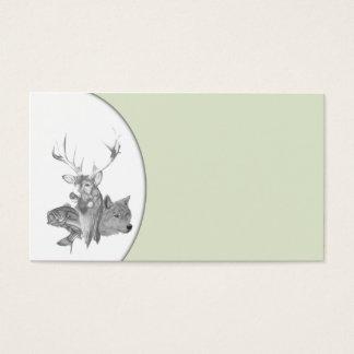 Animal Heads Business Card