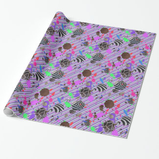 Animal Hide Gone Wild Wrapping Paper