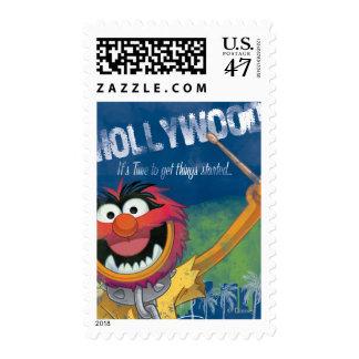 Animal - Hollywood, California Poster Stamp