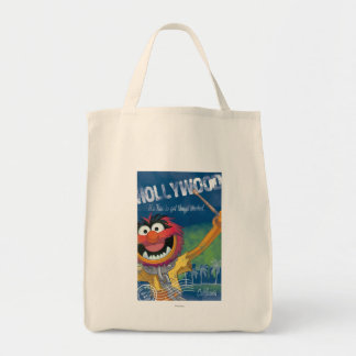 Animal - Hollywood, California Poster Tote Bag