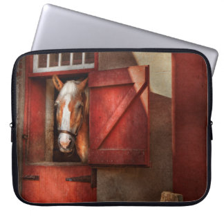 Animal - Horse - Calvins house Laptop Computer Sleeves