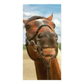 Animal - Horse - I finally got my braces off Card