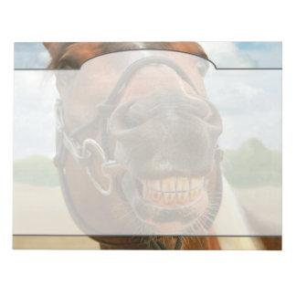 Animal - Horse - I finally got my braces off Notepad