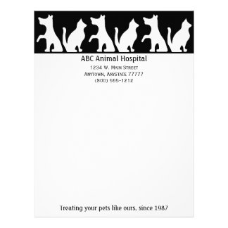 Animal Hospital Letterhead