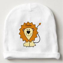 Animal Illustrations custom name baby hat
