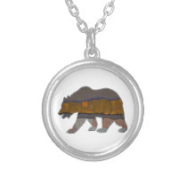 Animal Instinct Silver Plated Necklace