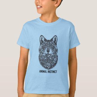Animal Instinct - Wolf graphic T-shirt Tees