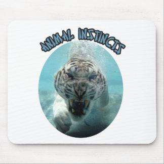 ANIMAL INSTINCTS LOGO MOUSE PAD