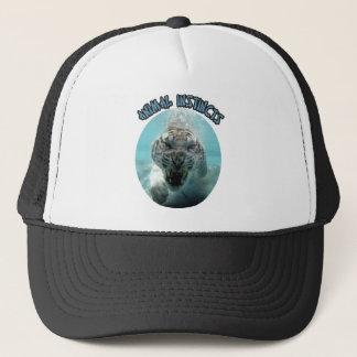 ANIMAL INSTINCTS LOGO TRUCKER HAT