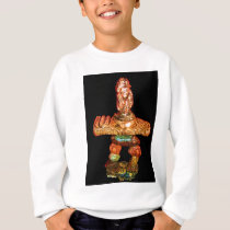 Animal Inukshuk sculpting by Hart Sweatshirt