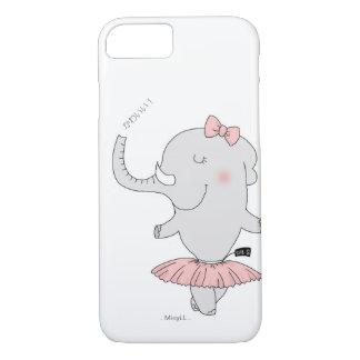 Animal iPhone 7 case -- elephant