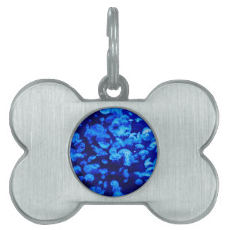 animal Jelly Fish Water Blue Pet ID Tag