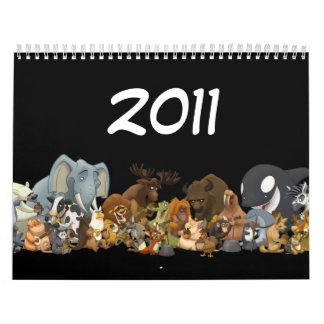 Animal Jug Bad Calendar (2011)