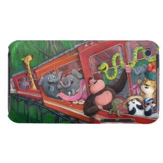 Animal Jungle Train Barely There iPod Cover