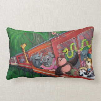 Animal Jungle Train Pillows