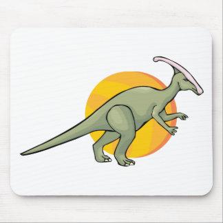 Animal jurásico del arte del Reptilia de los dinos Tapetes De Ratón