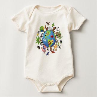 Animal Kingdom Baby Bodysuit